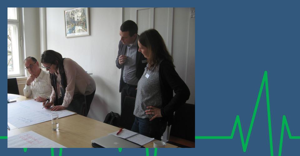 Thementisch Netzwerke 1. Beiratstreffen am 14.03.2018