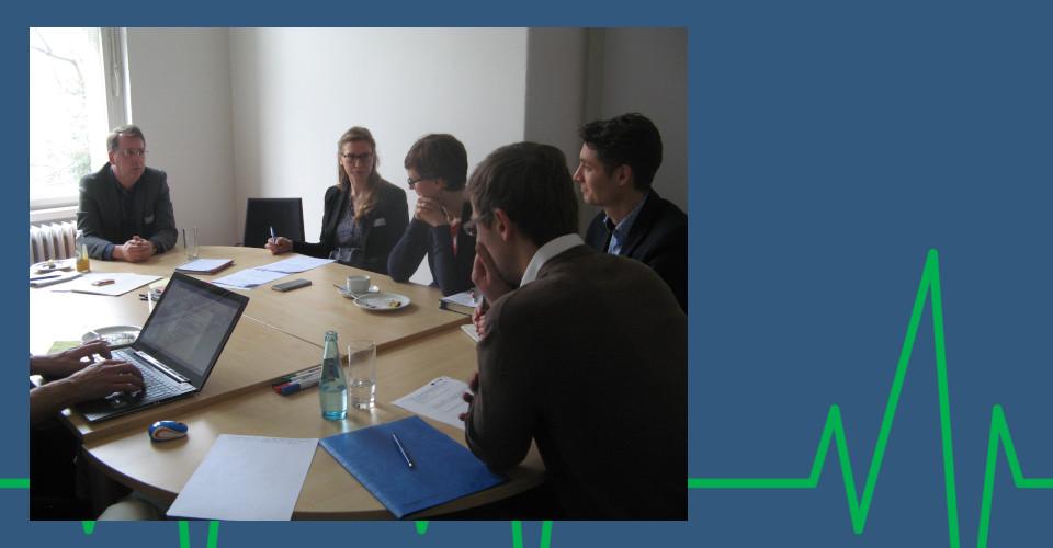 Thementisch Sektorenübergreifende Qualitätsbewertung beim 1. Beiratstreffen am 14.03.2018