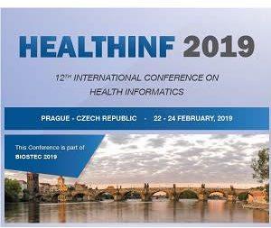Wissenschaftlicher Vortrag auf der Konferenz HEALTHINF 2019