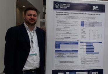 Care4Saxony diskutiert Forschung zu Endnutzerakzeptanz von Telemedizin-Lösungen auf dem Kongress für Evidenzbasierte Medizin